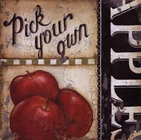 """Pick Your Own by Kim Lewis - 12"""" x 12"""""""