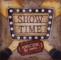 Show Time Fine Art Print
