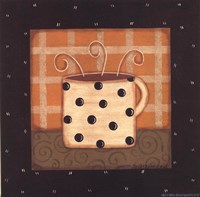 "Coffee Mug III by Sue Allemand - 8"" x 8"""
