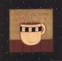 "Coffee Mug IV by Sue Allemand - 8"" x 8"""