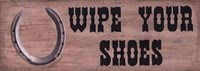 Wipe Your Shoes Fine Art Print