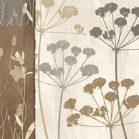 Flowers & Ferns I Fine Art Print