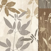 """Flowers & Ferns II by Klein Design - 12"""" x 12"""""""