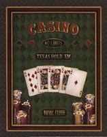 Texas Hold 'Em - mini Framed Print