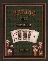 Texas Hold 'Em - mini Fine Art Print