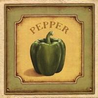 Pepper - mini Framed Print