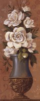 """Courtly Roses II - petite by Jillian Jeffrey - 4"""" x 10"""""""