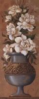 """Courtly Roses III - petite by Jillian Jeffrey - 4"""" x 10"""""""
