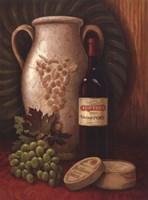 Fresco Vineyard I Fine Art Print
