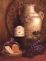 Fresco Vineyard II Fine Art Print
