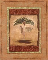 Palm Botanical Study II - mini Fine Art Print