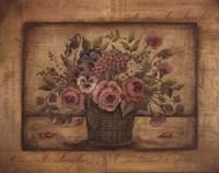 Paris Bouquet II - mini Framed Print