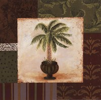 Potted Palm I Fine Art Print