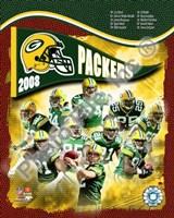 "2008 Green Bay Packers Team Composite by John James Audubon, 2008 - 8"" x 10"""