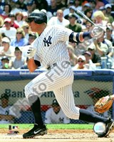 "Alex Rodriguez 2008 Batting Action by John James Audubon - 8"" x 10"""