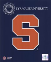 "2008 Syracuse Team Logo by John James Audubon, 2008 - 8"" x 10"""