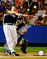 Justin Morneau 2008 MLB Home Run Derby Action Fine Art Print
