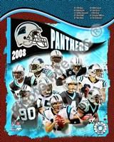 """2008 Carolina Panthers Team Composite by John James Audubon, 2008 - 8"""" x 10"""""""