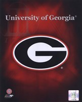 2008 University of Georgia Team Logo Fine Art Print