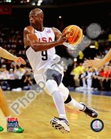 Dwyane Wade 2008 Team USA Action Fine Art Print