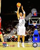 "Jason Kidd 2008 Team USA Action by John James Audubon - 8"" x 10"", FulcrumGallery.com brand"