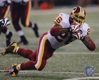 Clinton Portis 2008 Action Fine Art Print