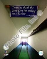 Yankee Stadium dugout Tunnel Final Game September 21, 2008 Fine Art Print