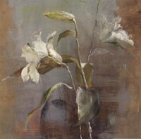 "Contemporary Lilies II 18x18 by Danhui Nai - 18"" x 18"" - $13.99"