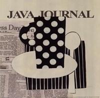 Java Journal Fine Art Print