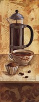 International Coffee III Framed Print