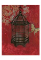 "Asian Bird Cage II by Norman Wyatt Jr. - 13"" x 19"""