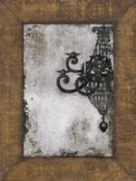 """Antique Chandelier II by Norman Wyatt Jr. - 18"""" x 24"""""""