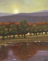 Lake View II Fine Art Print