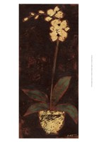 "Gilded Orchid II by Norman Wyatt Jr. - 13"" x 19"""