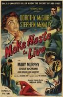 """Make Haste to Live by John James Audubon - 11"""" x 17"""""""