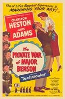 "Private War of Major Benson by John James Audubon - 11"" x 17"""