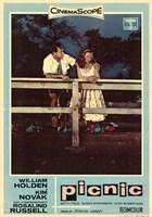 "Picnic - CinemaScope by John James Audubon - 11"" x 17"""