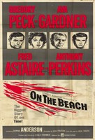 """On the Beach Gregory Peck - 11"""" x 17"""""""