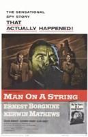 "Man on a String - 11"" x 17"""