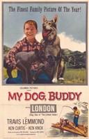 "My Dog Buddy - 11"" x 17"""