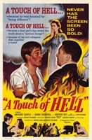 """A Touch of Hell Movie Poster - 11"""" x 17"""", FulcrumGallery.com brand"""