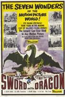 "Sword and the Dragon - 11"" x 17"", FulcrumGallery.com brand"
