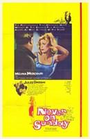 "Never on Sunday Melina Mercouri - 11"" x 17"""