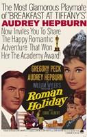 Roman Holiday Audrey Hepburn Fine Art Print
