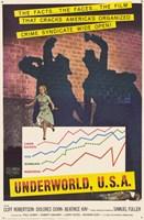 "Underworld USA - 11"" x 17"", FulcrumGallery.com brand"
