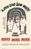 """Make Mine Mink - 11"""" x 17"""""""