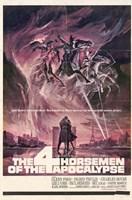 "The Four Horsemen of the Apocalypse - 11"" x 17"""