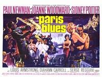 """Paris Blues - 17"""" x 11"""""""