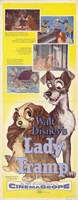 """Lady and the Tramp Tall - 11"""" x 17"""""""