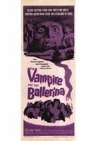 "The Vampire and the Ballerina - 11"" x 17"""